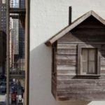 В современном Сан-Франциско построили хижину 19 века. ФОТО